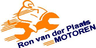 Ron van der Plaats Motoren  logo